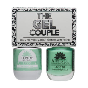 La Palm Gel Couple Duo - 14 mL (Mermaid Tale - TGC538)