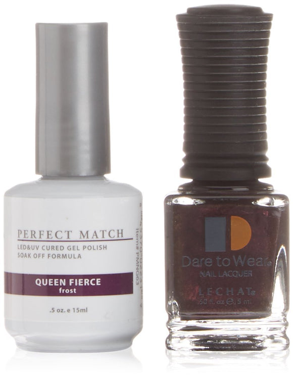 LeChat Perfect Match Nail Polish - 0.5 Oz (Queen Fierce - PMS063)