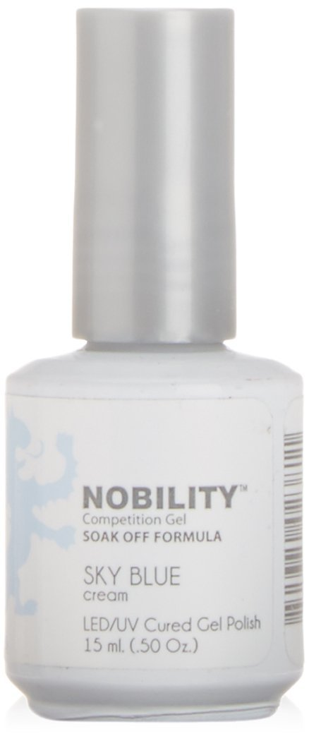 LeChat Nobility Gel Polish - 15 mL (Sky Blue - NBGP63)
