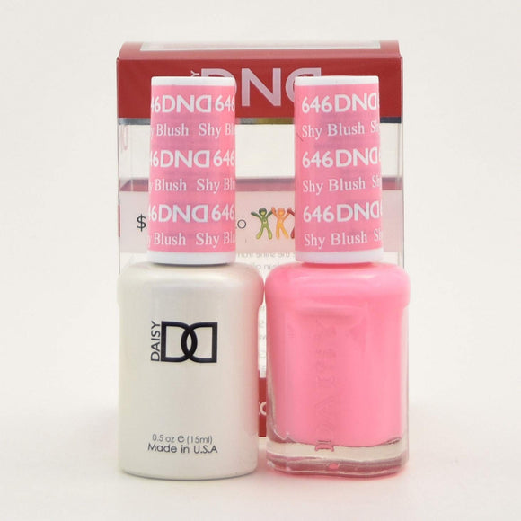 DND Gel & Matching Polish - Duo - (Shy Blush - DD646)