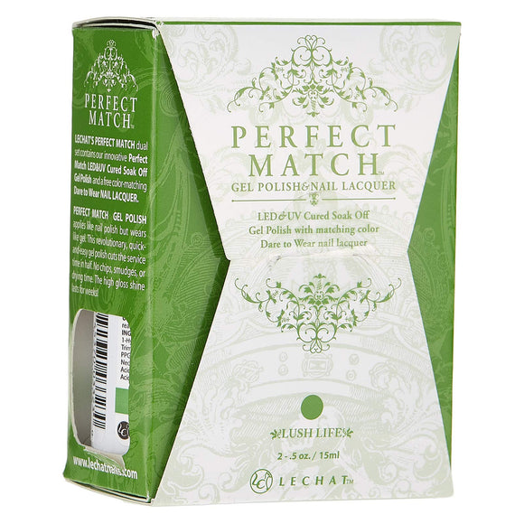 LeChat Perfect Match Nail Polish - 0.5 Oz (Lush Life - PMS178)