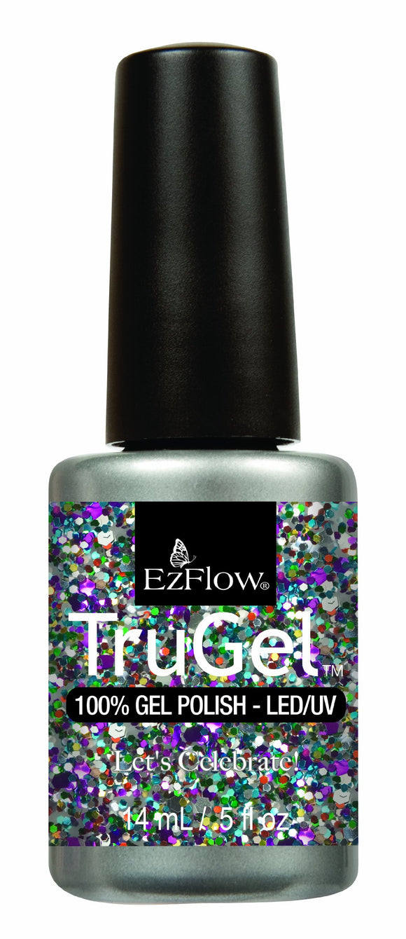 Ez Flow TruGel LED/UV Gel Polish - 14 mL (Let's Celebrate - EZTG42478-1)
