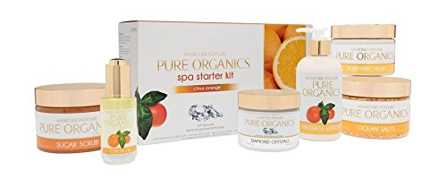 Pure Organics Spa Starter Kit (Citrus Orange - POCO606)