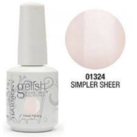 Gelish Soak-Off Gel Polish - 15 mL (Simple Sheer - GLN1110812)