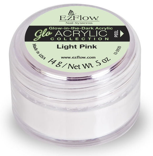 EzFlow Glow - .75 Oz (Light Pink - EZ59097)