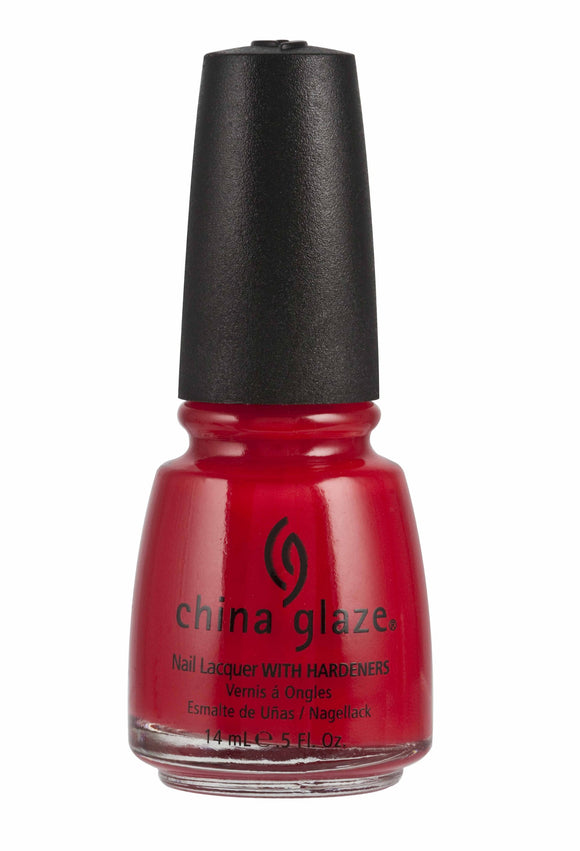 China Glaze Lacquer - 14 mL (Italian Red - CG70357)