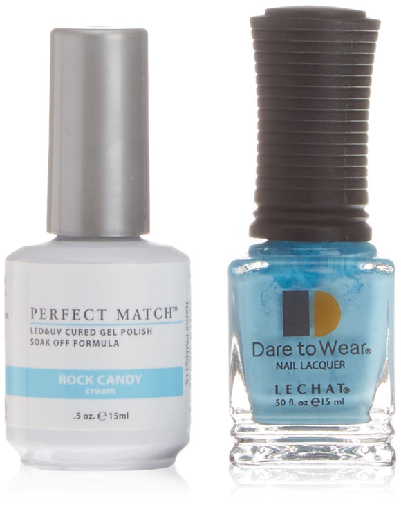 LeChat Perfect Match Nail Polish - 0.5 Oz (Rock Candy - PMS115)