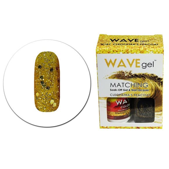 Wave Gel Matching Duo (Cleopatra's Peacoat - W187)