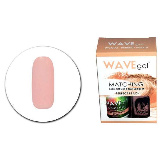 Wave Gel Matching Duo (Perfect Peach - WCG73)