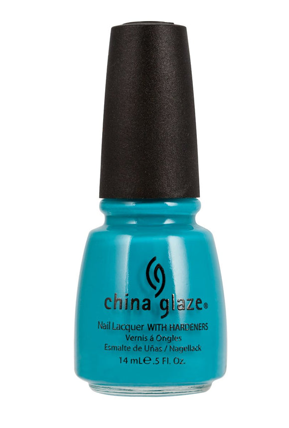 China Glaze Lacquer - 14 mL (Flyin High - CG80935)
