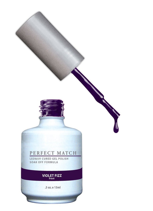 LeChat Perfect Match Nail Polish - 0.5 Oz (Violet Fizz - PMS031)