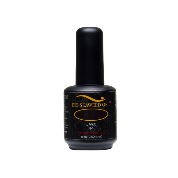 Bio Seaweed Gel 3Step Colour Gel Polish - 15 mL (Java - BSG44)