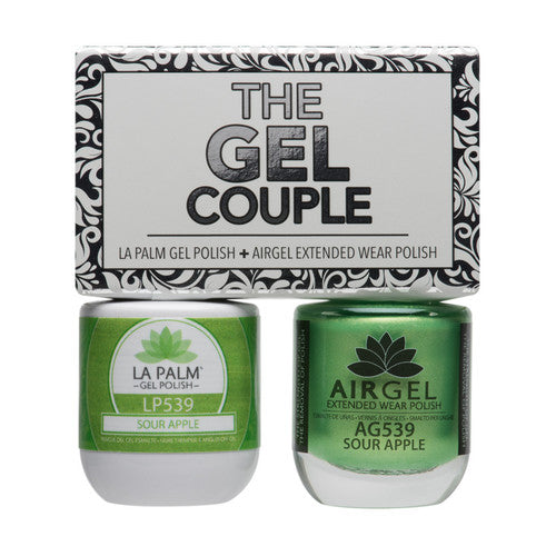 La Palm Gel Couple Duo - 14 mL (Sour Apple - TGC539)