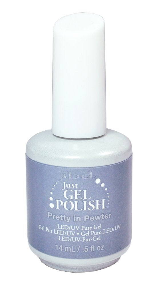 IBD Just Gel Polish - 0.5 oz (Pretty In Pewter  - IBD56685)
