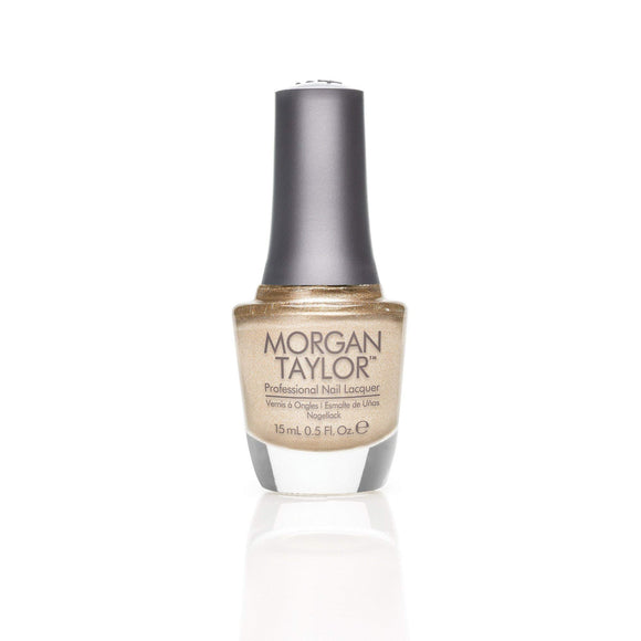 Morgan Taylor Professional Nail Lacquer  - 15 mL (Give Me Gold  - MT50075)