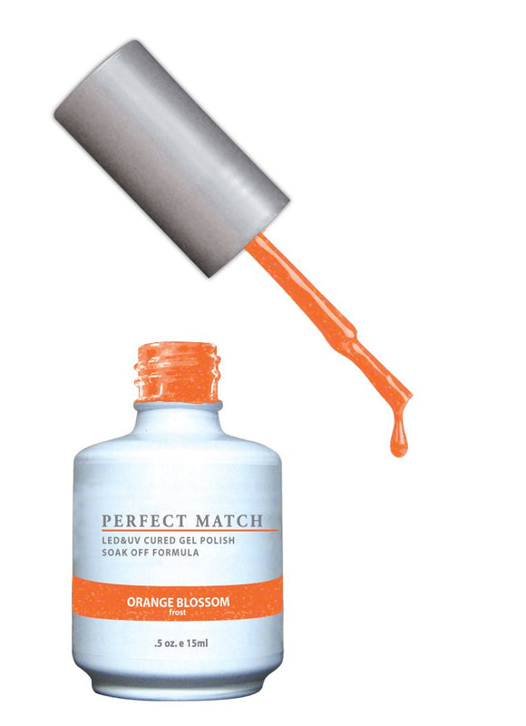 LeChat Perfect Match Nail Polish - 0.5 Oz (Orange Blossom - PMS145)