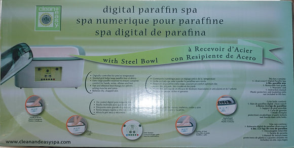 Clean & Easy Digital Paraffin Spa