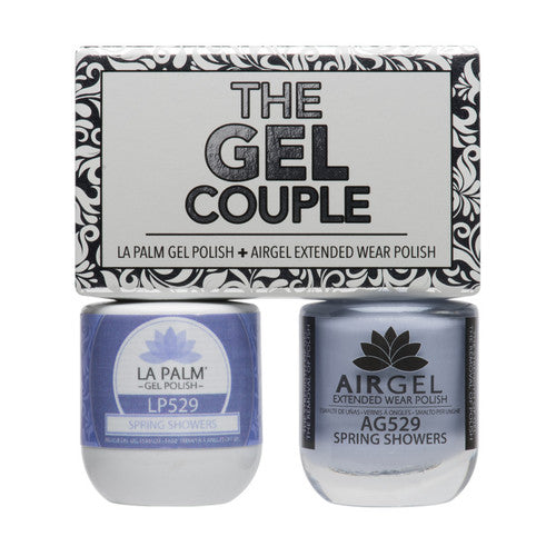 La Palm Gel Couple Duo - 14 mL (Spring Showers - TGC529)