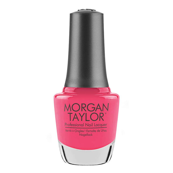 Morgan Taylor Professional Nail Lacquer  - 15 mL (Pretty As A Pink-ture - MT3110256)