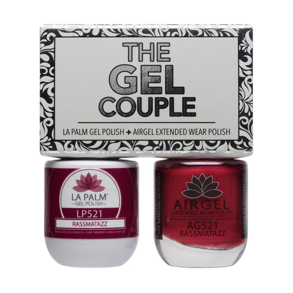 La Palm Gel Couple Duo - 14 mL (Razzmatazz - TCG521)