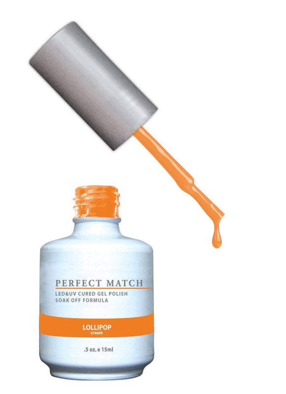 LeChat Perfect Match Nail Polish - 0.5 Oz (Lollipop - PMS117)