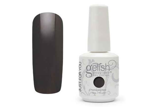 Gelish Soak-Off Gel (O) - 15 mL (Fashionably Slate - GL01538, 15 mL)