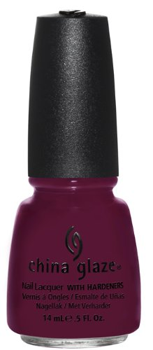 China Glaze Lacquer - 14 mL (Purr-fact Plum - CG80496)