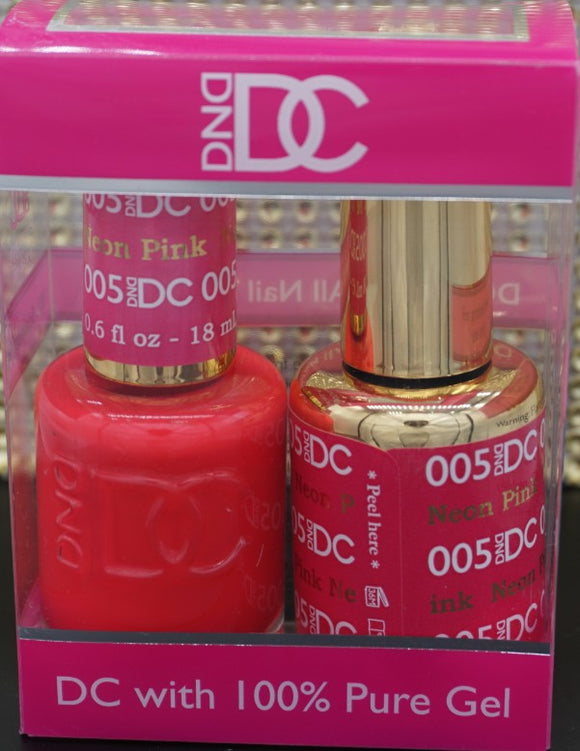 DND DC Collection-005 Neon Pink- 18mL