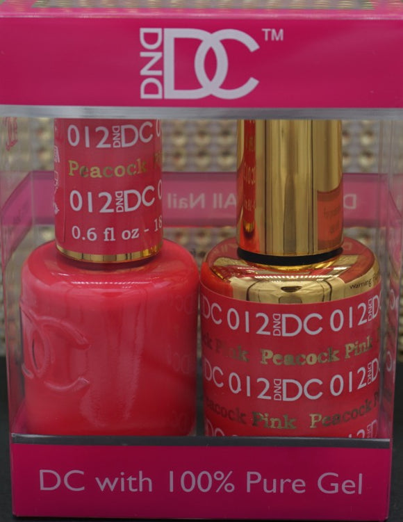 DND DC Collection-012 Peacock Pink- 18mL
