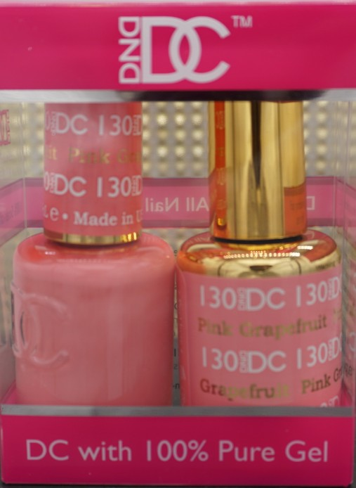 DND DC Collection-130 Pink Grapefruit- 18 mL