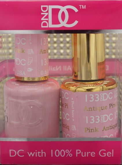 DND DC Collection-133 Antique Pink- 18 mL