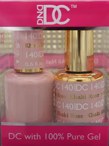 DND DC Collection-140 Khaki Rose- 18 mL
