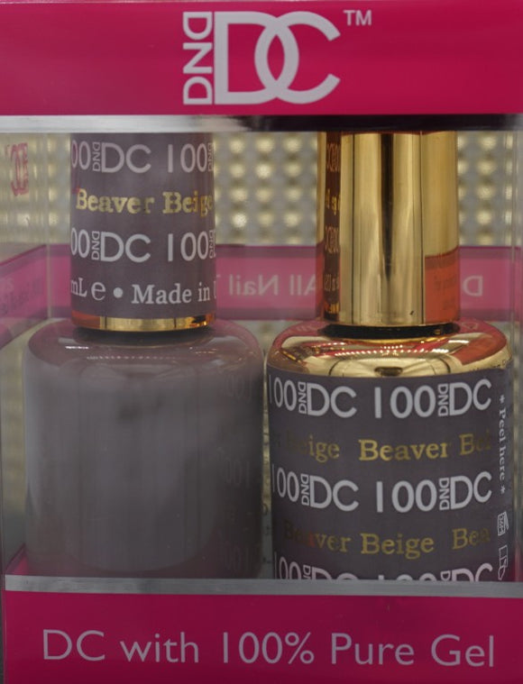 DND DC Collection-100 Beaver Beige- 18 mL