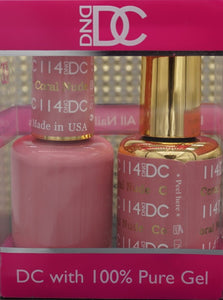 DND DC Collection-114 Coral Nude- 18 mL
