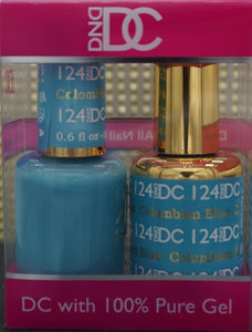 DND DC Collection-124 Columbian Blue- 18 mL