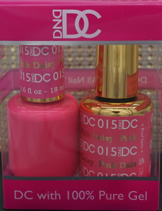 DND DC Collection-015 Pink Daisy- 18mL