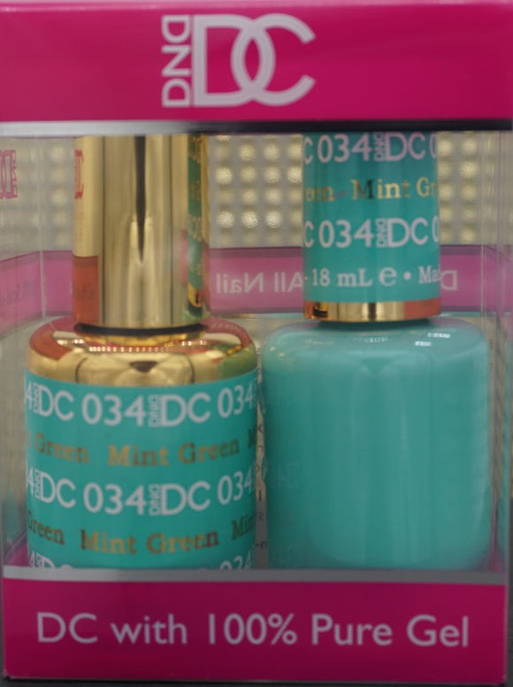 DND DC Collection-034 Mint Green- 18mL