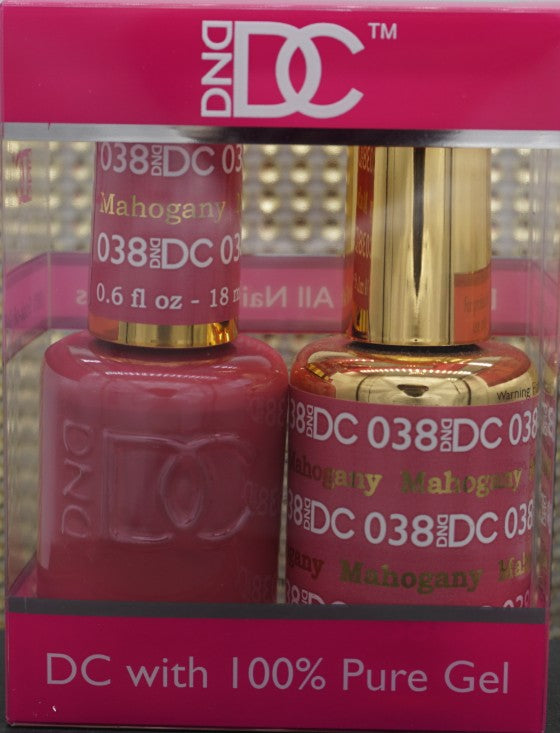 DND DC Collection-038 Mahogany-18mL