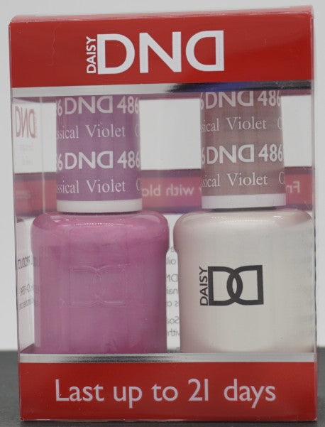 DND Gel & Matching Polish - Duo - (Classical Violet - DD486)