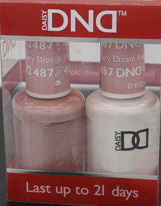 DND Gel & Matching Polish - Duo (Fairy Dream - DD487)