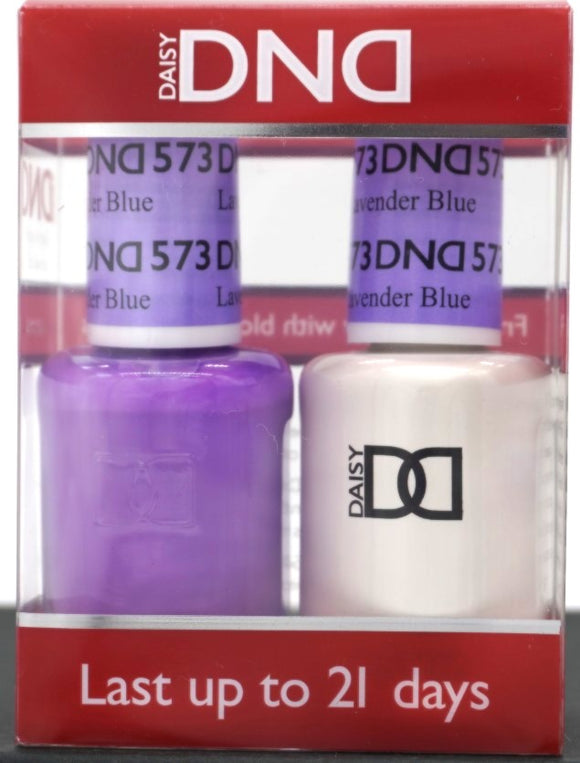 DND Gel & Matching Polish - Duo - (Lavender Blue - DD573)