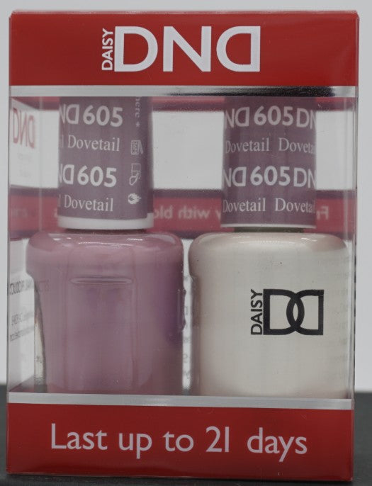 DND Gel & Matching Polish - Duo - (Dovetail - DD605)