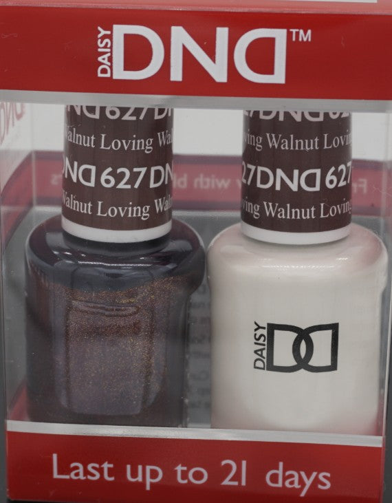 DND Gel & Matching Polish - Duo (Loving Walnut - DD627)