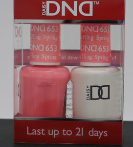 DND Gel & Matching Polish - Duo - (Spring Fling - DD653)