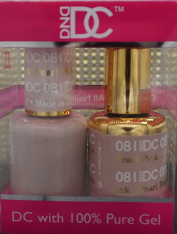 DND DC Collection-081 Pearl Pink- 18 mL