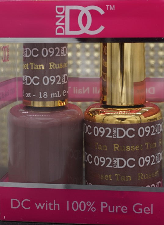 DND DC Collection-092 Russet Tan- 18 mL