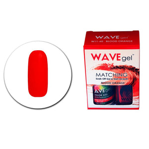 Wave Gel Matching Duo (Blood Orange - W1160)
