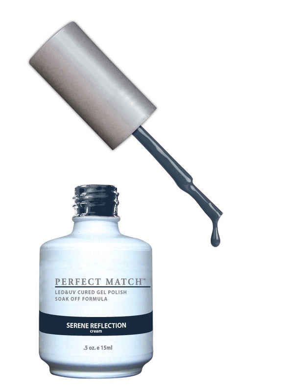 LeChat Perfect Match Nail Polish - 0.5 Oz (Serene Reflection - PMS105)