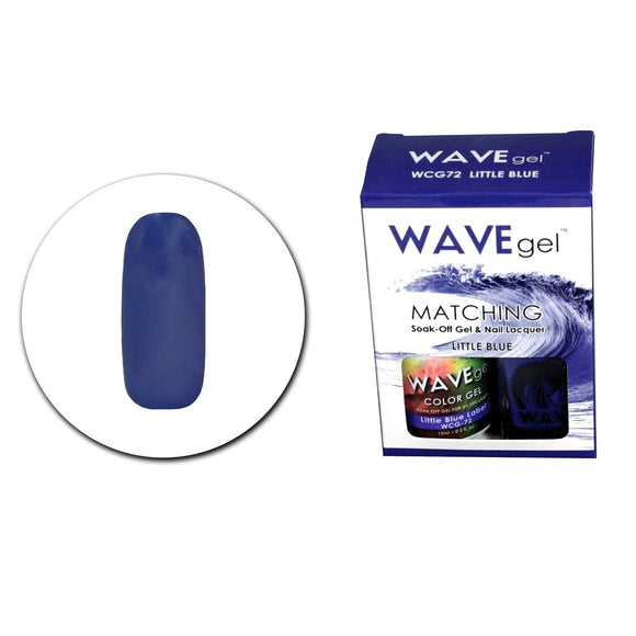 Wave Gel Matching Duo (Little Blue - WCG72)