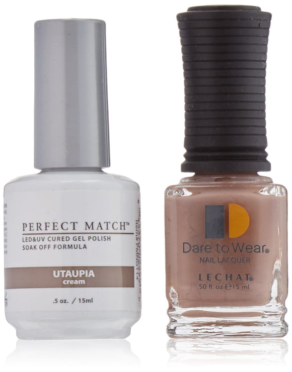 LeChat Perfect Match Nail Polish - 0.5 Oz (Utaupia - PMS114)